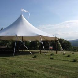 44x43 sailclith tent