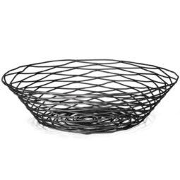 Black wire bread basket