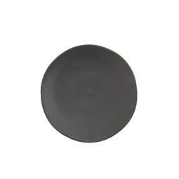 CHINA- Stoneware 8' Salad Plate Black
