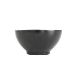 CHINA- Stoneware Bowl Black