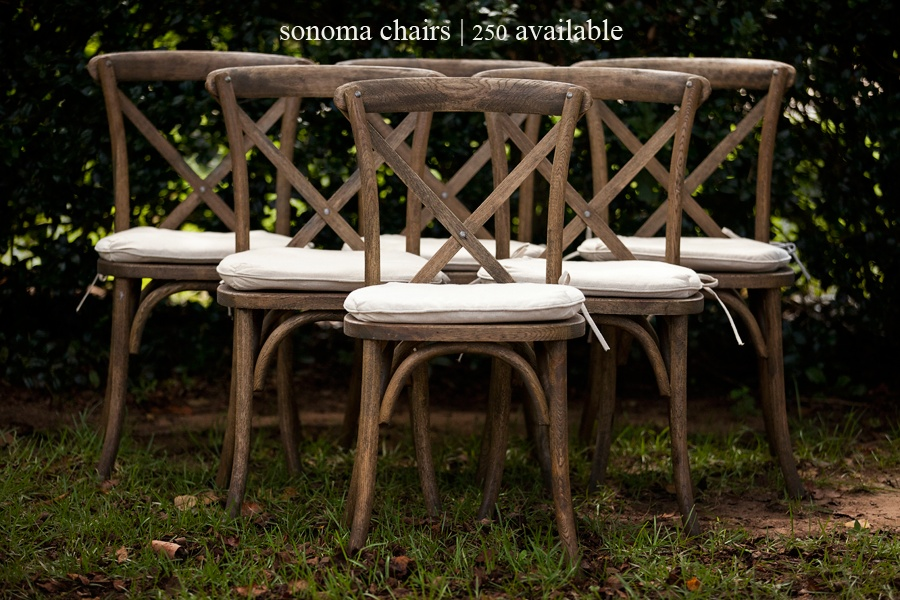 Rustic Cross Back Chair