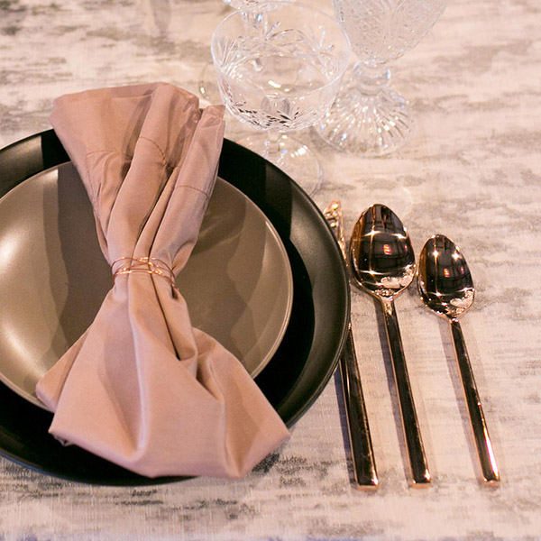FLATEWARE- Rose Gold Cover Photo