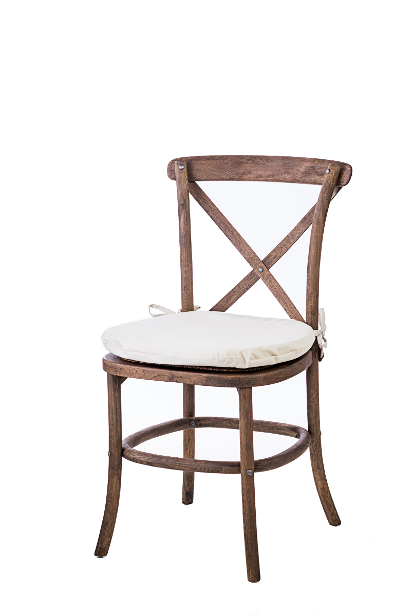 Merveilleux Rustic Cross Back Chair
