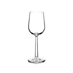 crystal dessert wine glass
