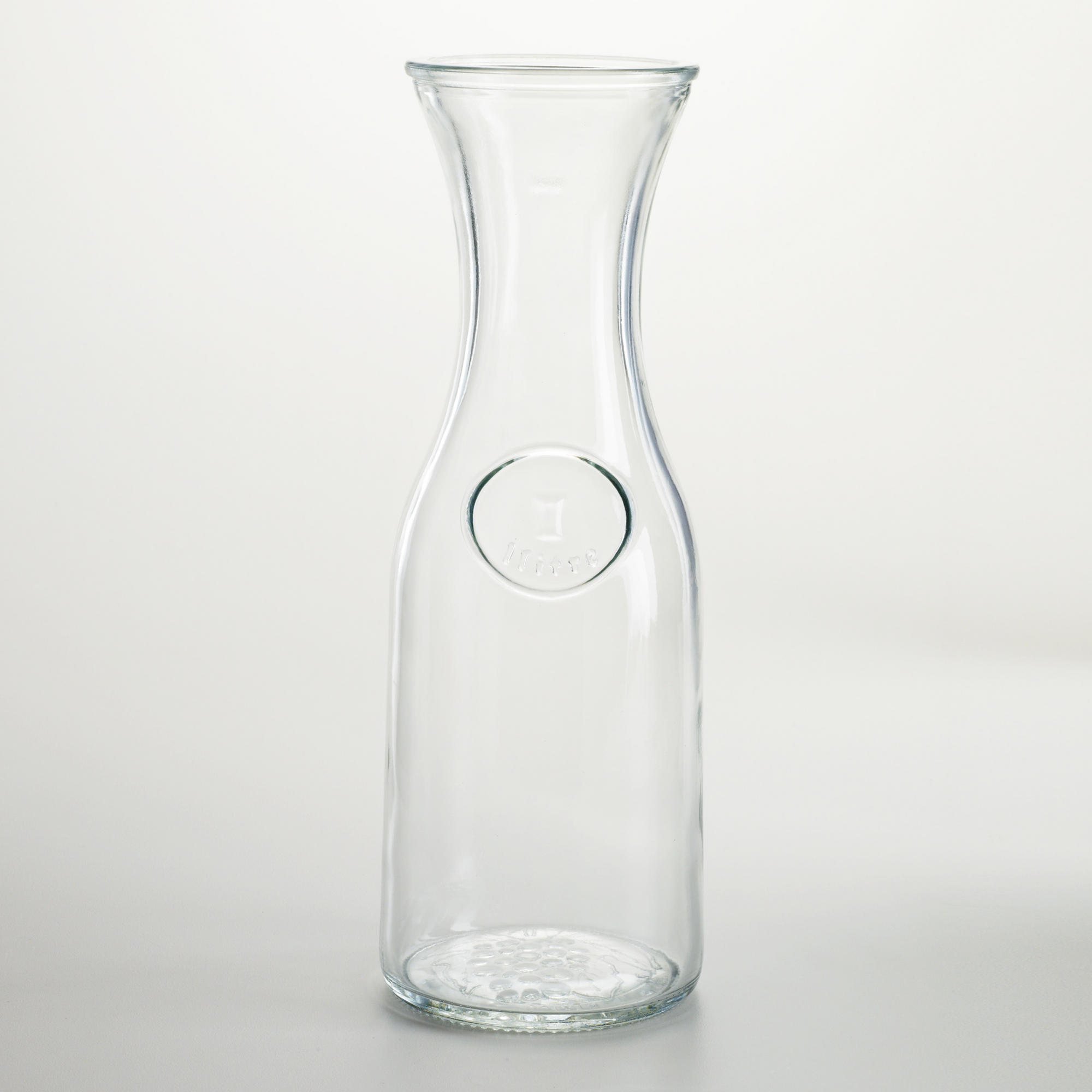 water carafe glass all about events. Black Bedroom Furniture Sets. Home Design Ideas