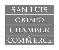 all about events - san luis obispo chamber of commerce - logo